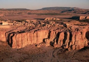 Bird's-eye View of Acoma and Sky City
