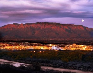 Albuquerque at Night