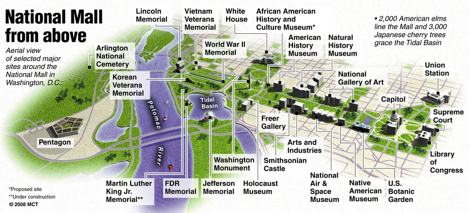 National Mall From Above Map Browncoat Ball 2018 Washington Dc
